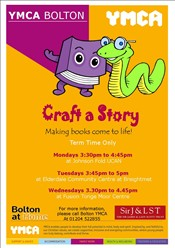 Craft A Story Tonge Moor area