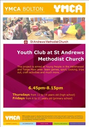 St Andrews Methodist Church Youth Clubs